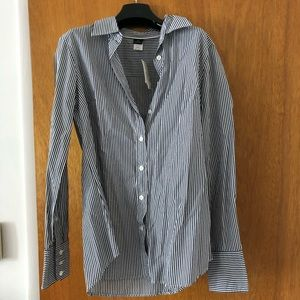 Brand New Slim Fit J. Crew Button Down Blouse sz S